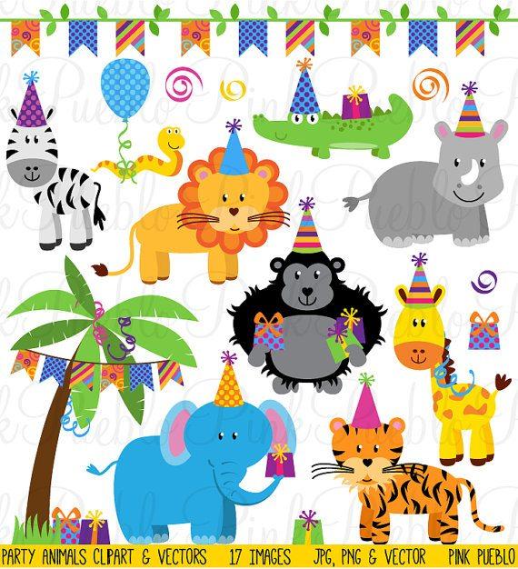 Birthday Party Animals