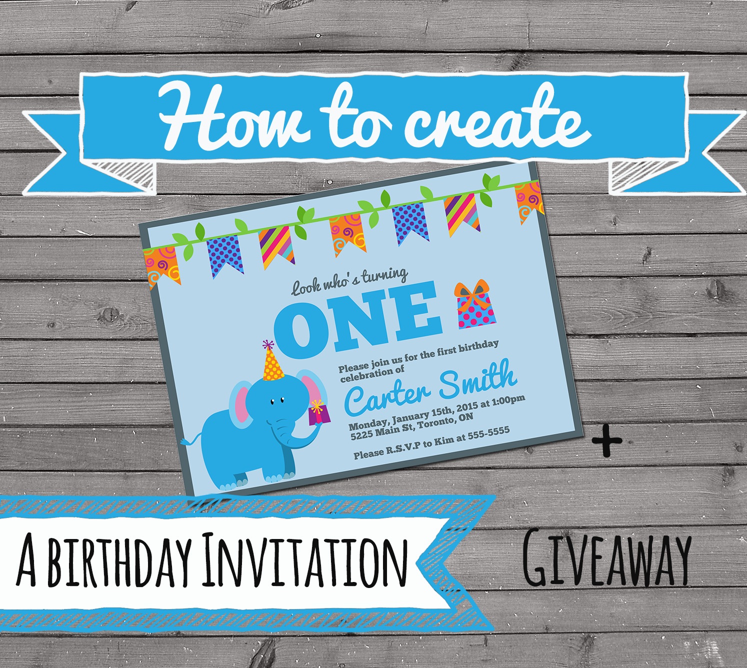 how to create an invitation the best ideas for kids