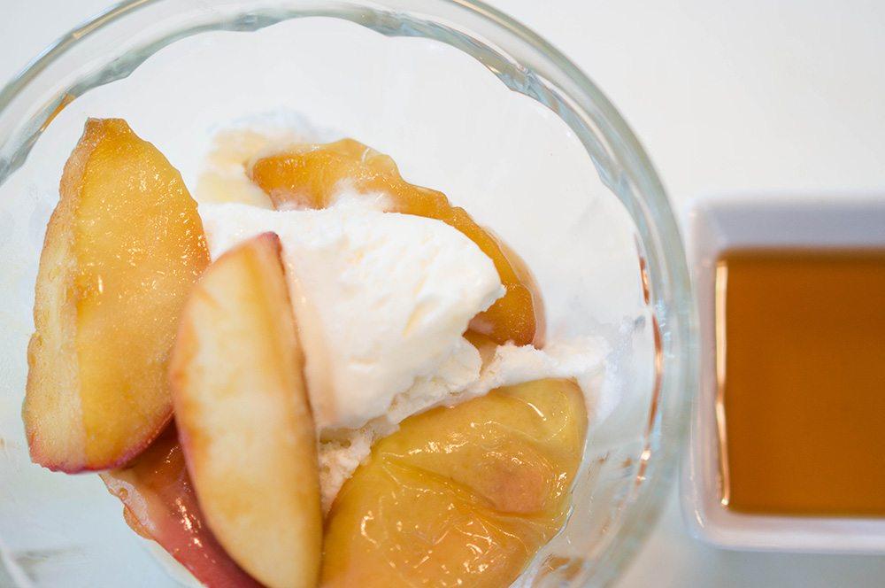fried apple & maple syrup ice cream 5