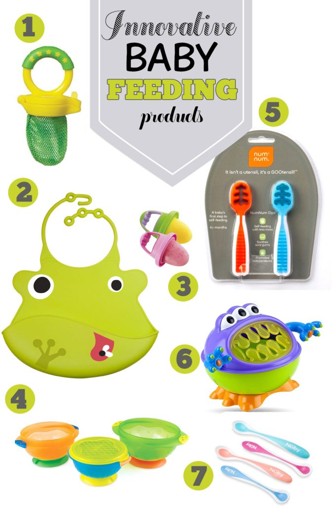 7 Innovative Baby Feeding Products