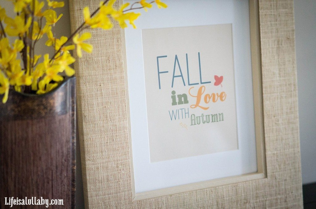 Fall in Love with Autumn Free Printable -1
