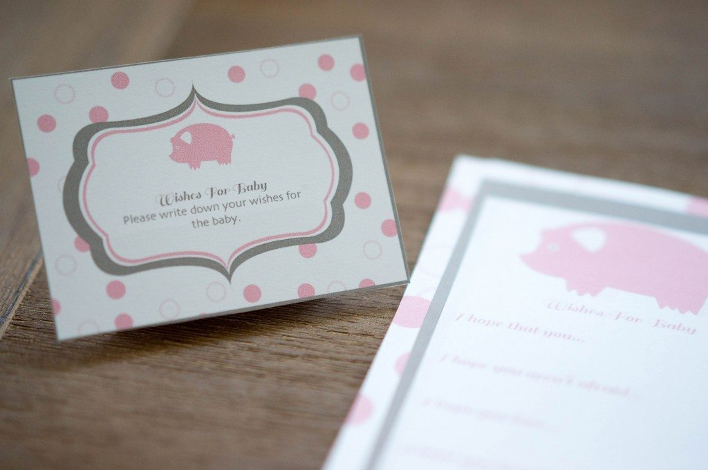 pig baby shower 7