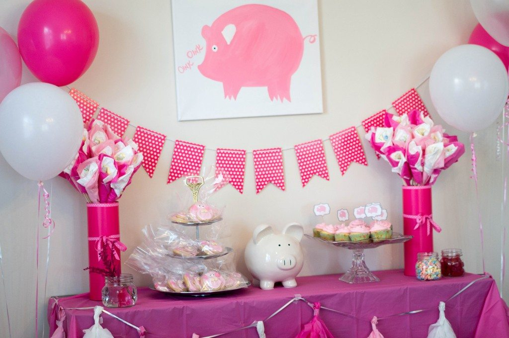 pig baby shower 8
