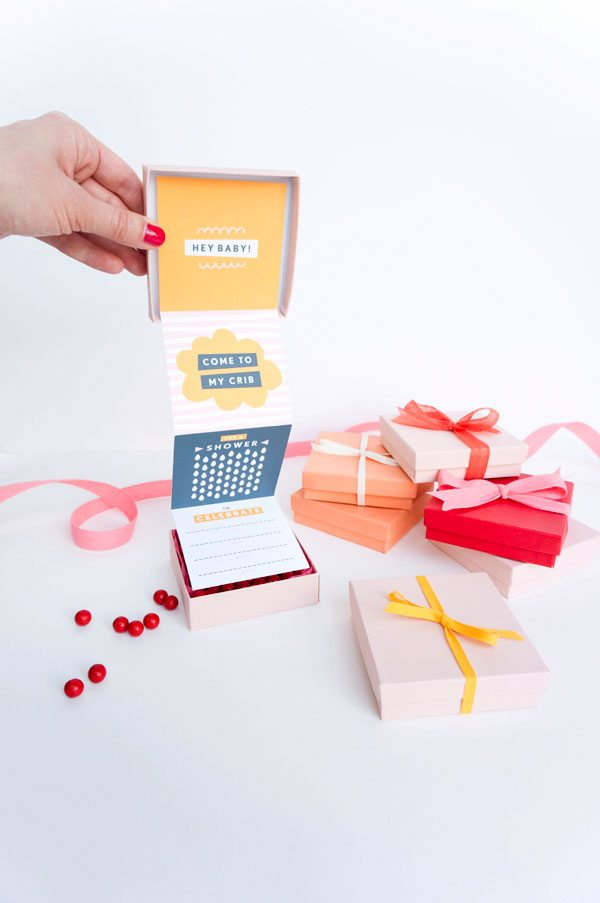Baby Shower Invitation In a Box