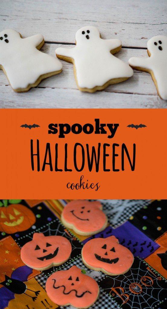 Easy Spooky Halloween Cookies