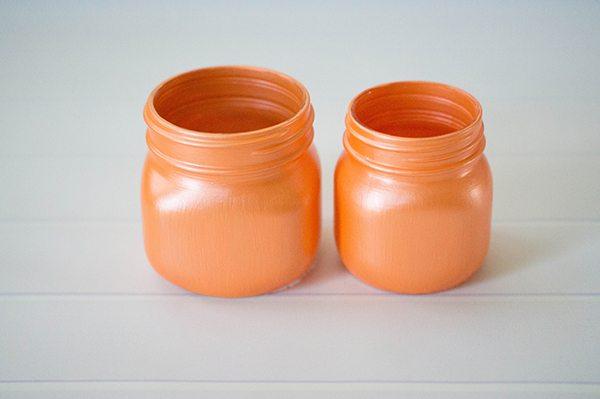 Halloween Pumpkin Candy Jars
