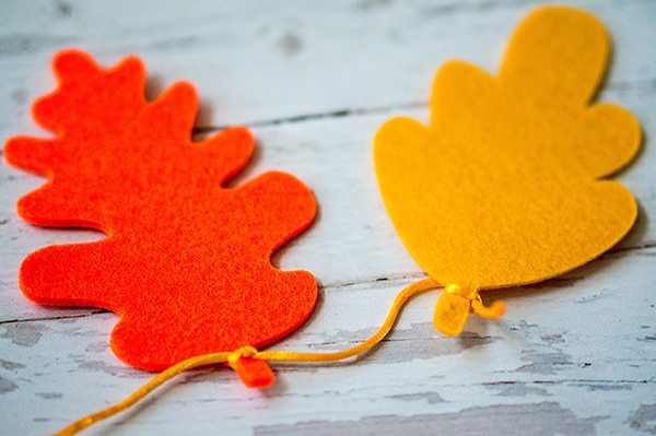 DIY Thanksgiving Banner - how to