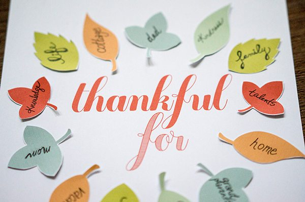 thankful printable thanksgiving