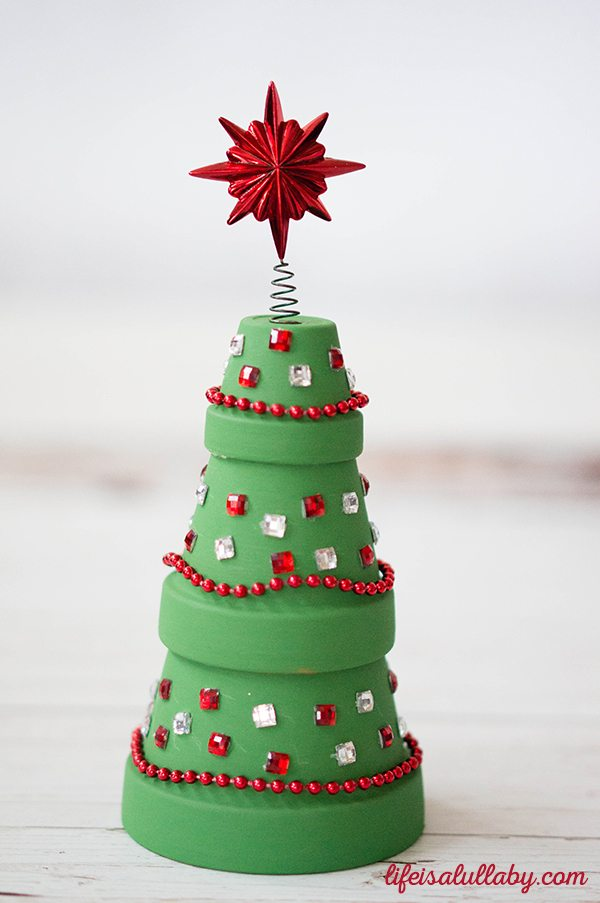 Terractotta Christmas Tree Craft