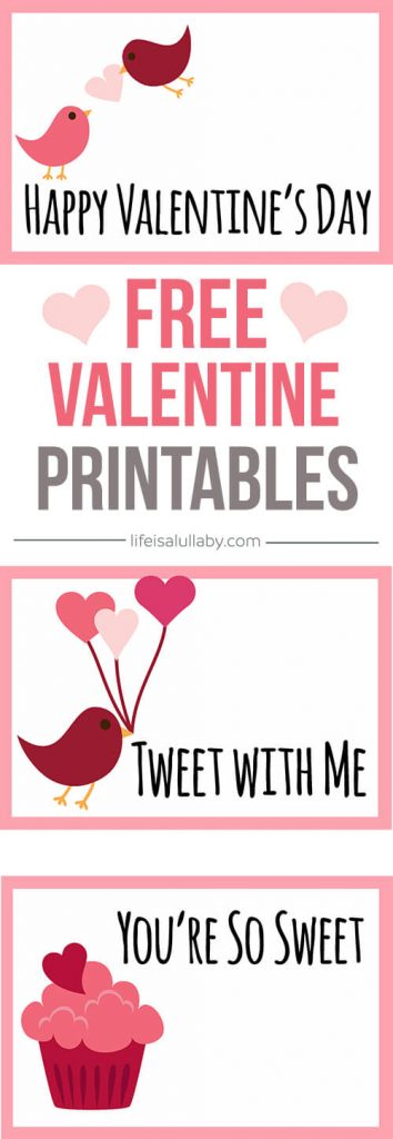 photograph about Happy Valentines Day Printable identified as Totally free Valentines Working day Playing cards Printable - The Perfect Tips for Young children