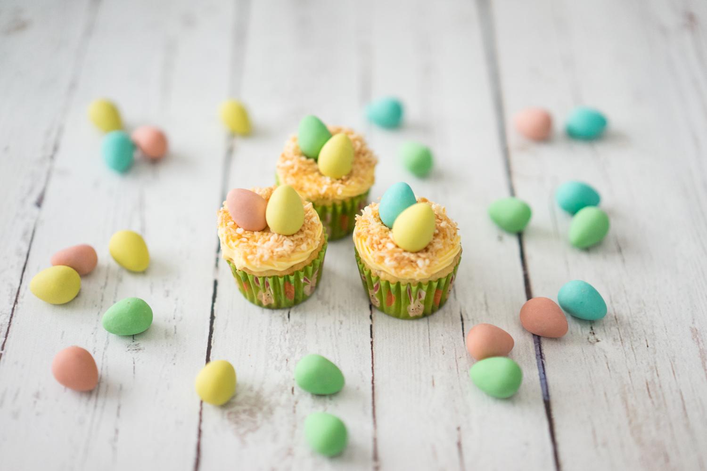 Cadbury Mini Egg Cupcakes