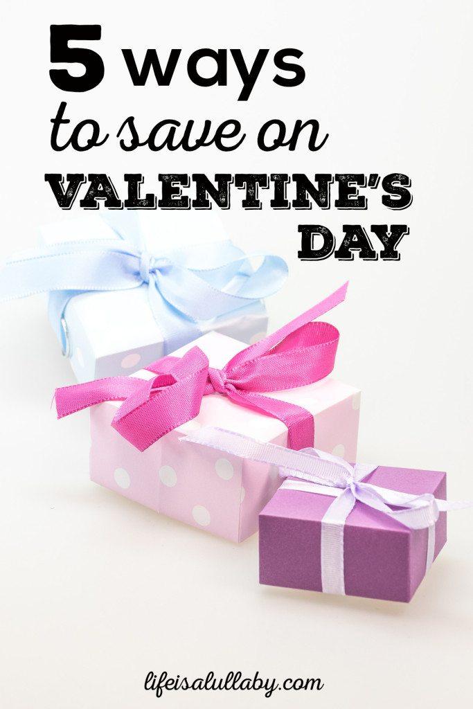 5 Ways to Save on Valentine's Day