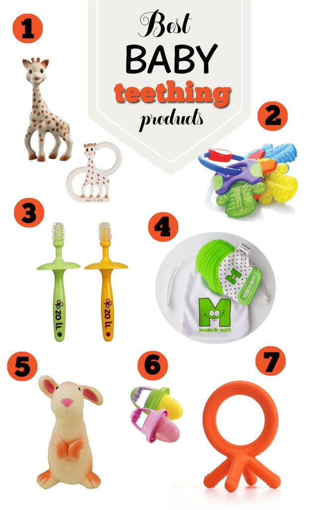 Best Baby Teething Products