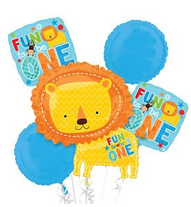 Fun to be One Balloons