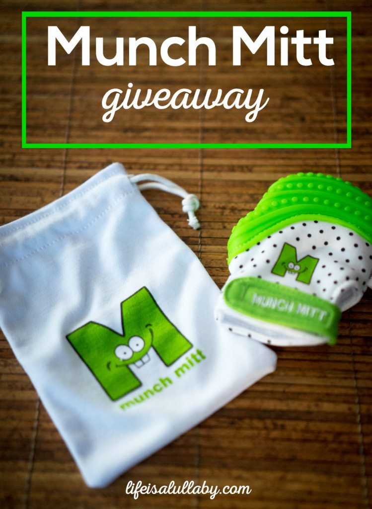 Munch Mitt Giveaway - lifeisalullaby