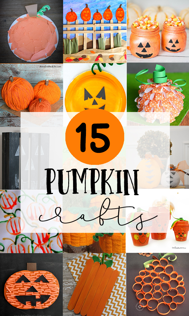 15 Pumpkin Crafts