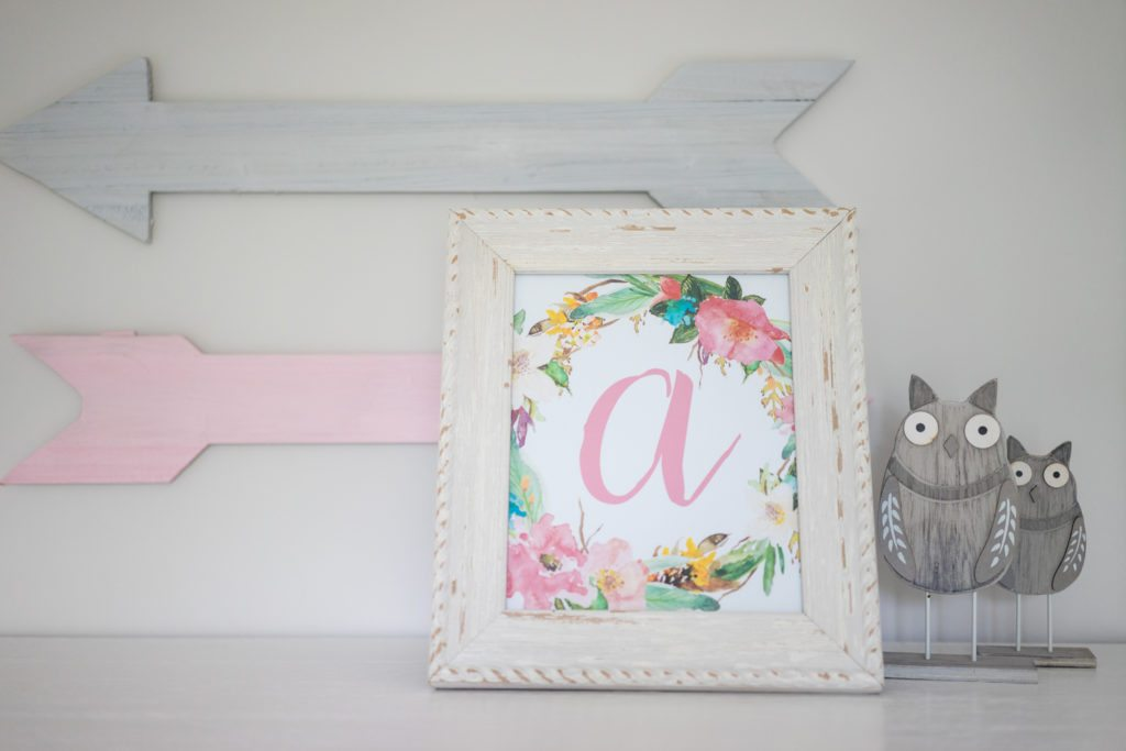 photo regarding Free Monogram Printable known as Totally free 1st Nursery Printable - The Perfect Recommendations for Youngsters