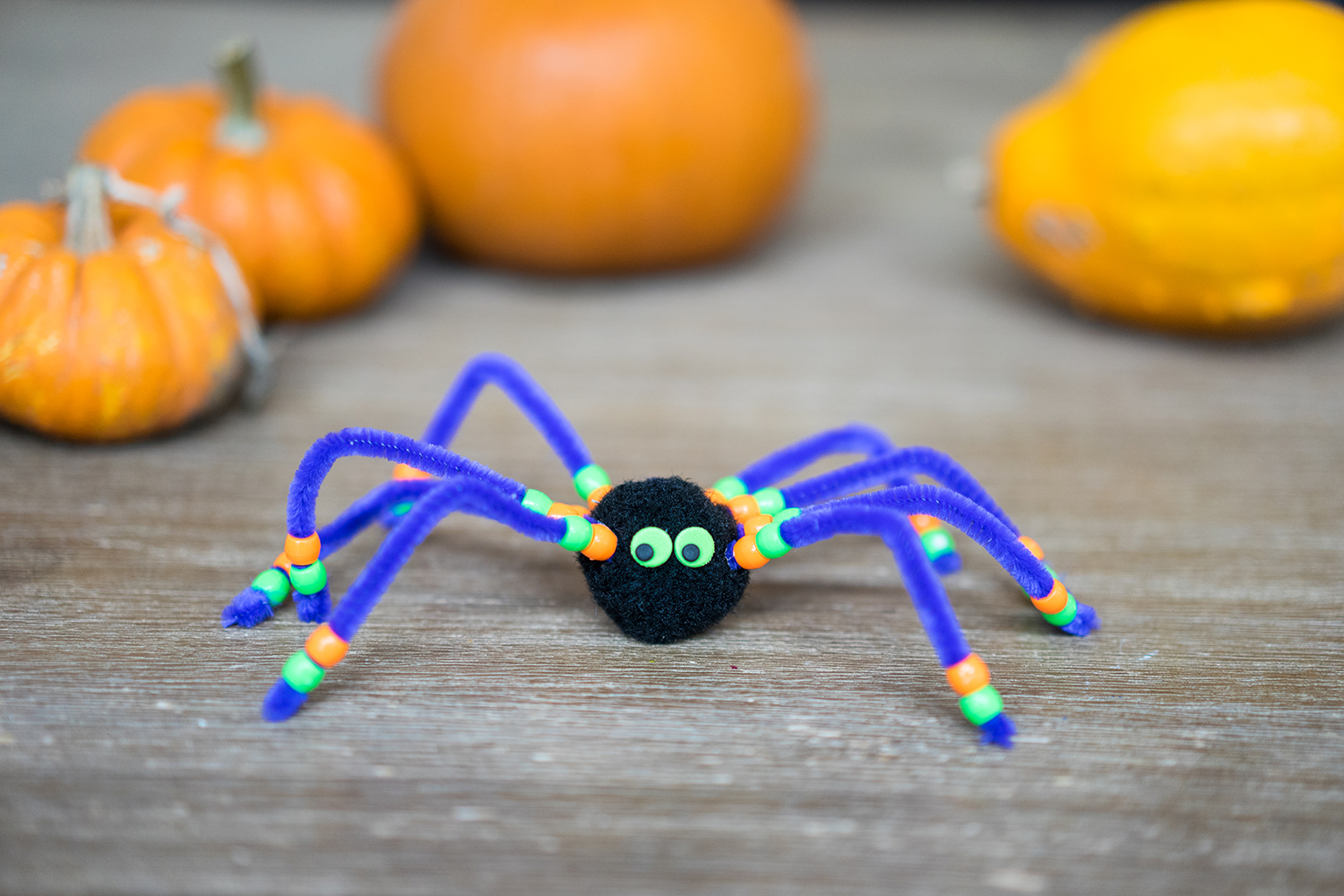 Halloween Spider Easy Kids Craft