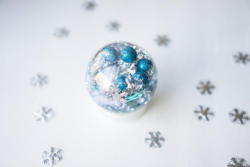 Snow Globe Sensory Bottle