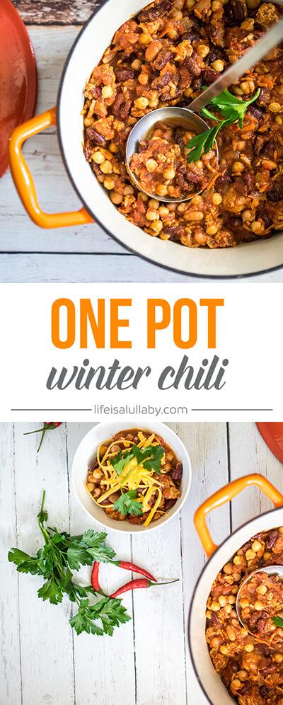 One Pot Winter Chili Recipe