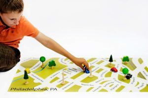 Street Map Play Mat