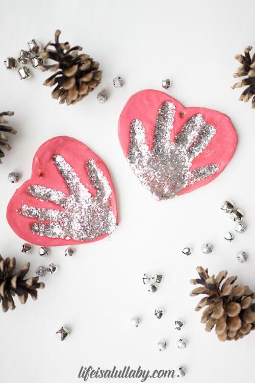 How to make a Salt Dough Handprint Ornament