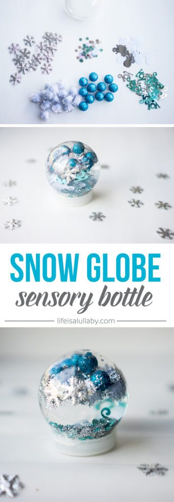 Christmas sensory bottle so easy to make your kids can Are we going to get snow this year 2016