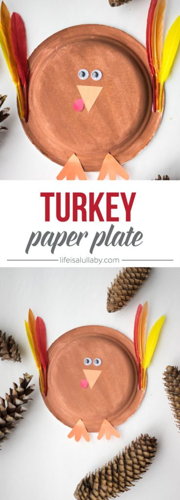 Thanksgiving Turkey Paper Plate Craft