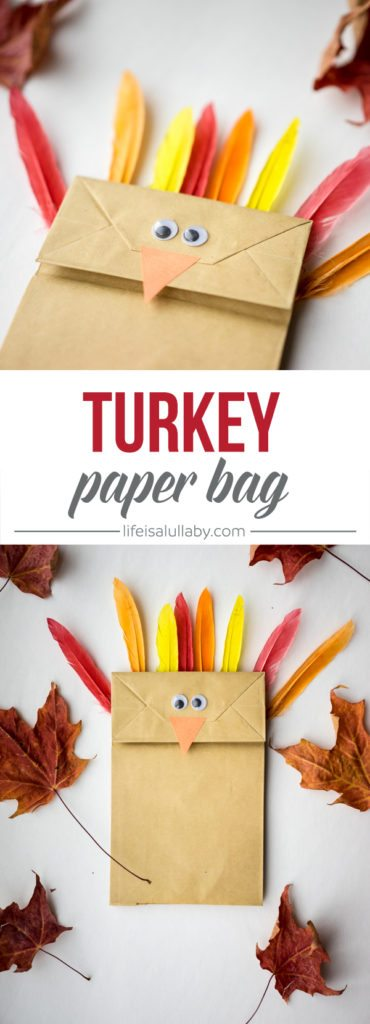 Paper Bag Turkey Craft