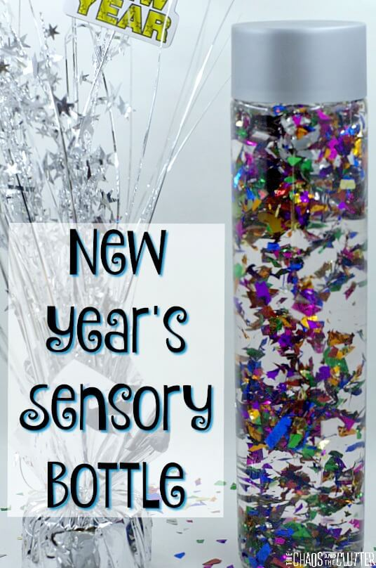 New Years Eve Sensory Bottle