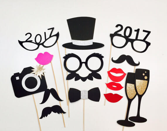 New Years Eve Photo Props