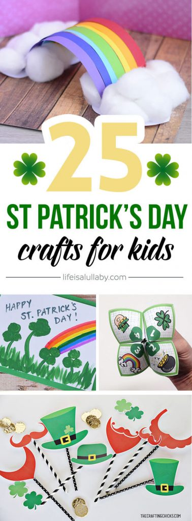 25 St Patrick's Day Crafts for Preschoolers