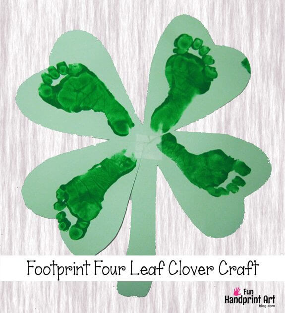 Footprint Four Leaf Clover