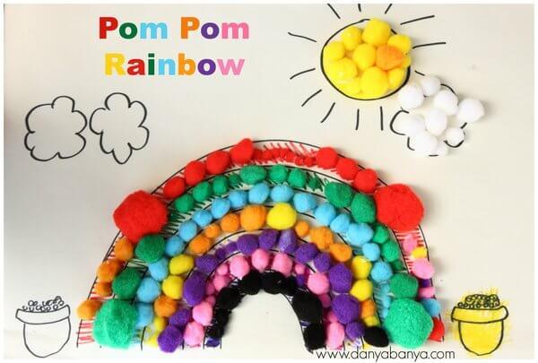 Pom-Pom-Rainbow