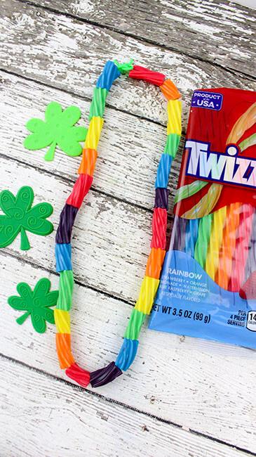 Twizzler Rainbow Necklace