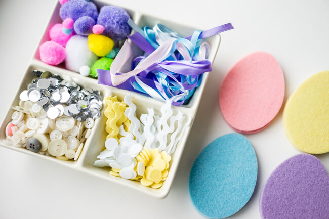 Felt Easter Egg Craft Supplies